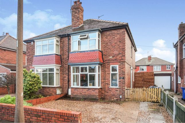 Thumbnail Semi-detached house for sale in Adlard Road, Wheatley Hills, Doncaster