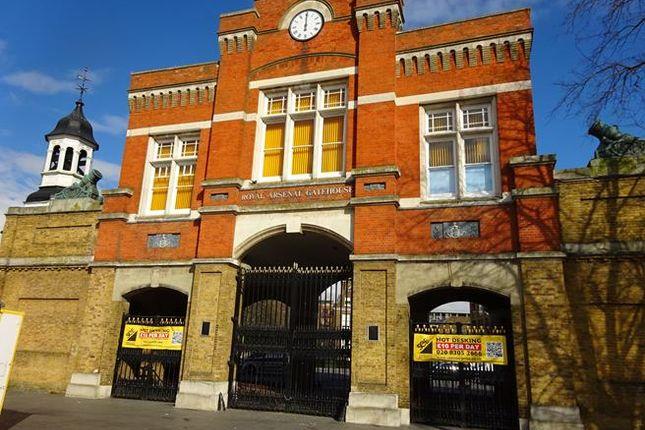 Thumbnail Office to let in Royal Arsenal Gatehouse, Beresford Square, London