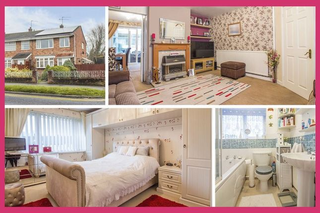 Thumbnail End terrace house for sale in Monnow Way, Bettws, Newport