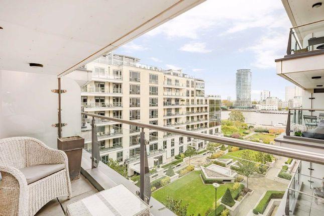 Thumbnail Flat for sale in Lensbury Avenue, London