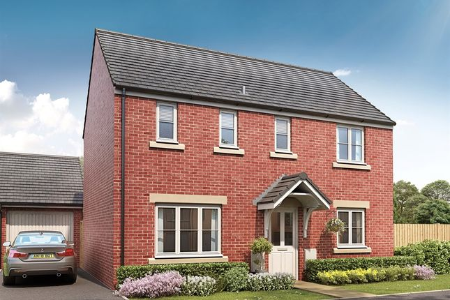 "Thumbnail Detached house for sale in ""The Clayton"" at Brickburn Close, Hampton Centre, Peterborough"