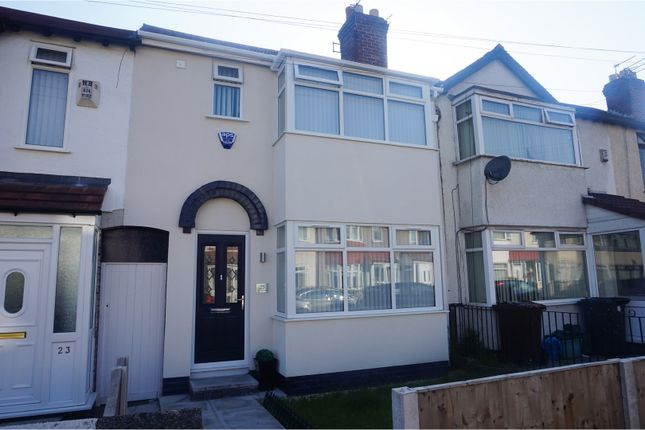3 bed terraced house for sale in Springfield Avenue, Liverpool