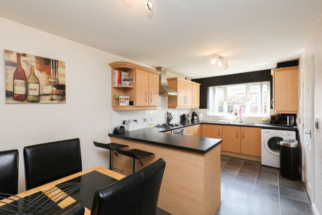 Thumbnail Town house for sale in The Bungalows, Sheffield Road, Killamarsh, Sheffield