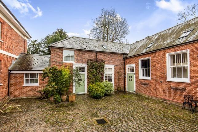 Thumbnail Terraced house for sale in Cobham Park, Cobham, Surrey
