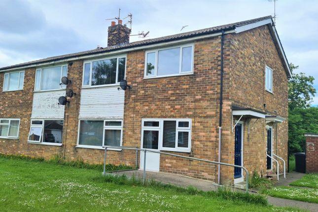 2 bed flat for sale in Broomlee, Ashington, Northumberland NE63