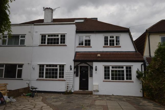 Thumbnail Semi-detached house to rent in Grafton Road, Worcester Park