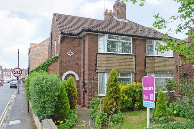 Thumbnail Semi-detached house for sale in Lawrence Street, York