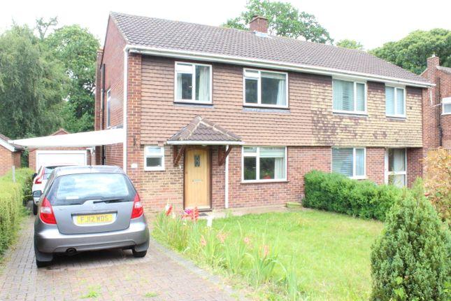 Thumbnail Semi-detached house to rent in Pierrefondes Avenue, Farnborough