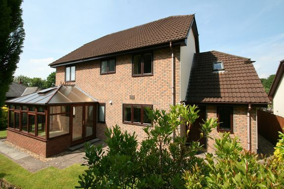 Thumbnail Detached house for sale in Ashleigh Park, Bampton, Tiverton