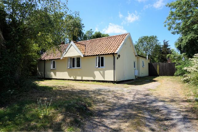 Thumbnail Detached bungalow for sale in Abbey Road, Leiston