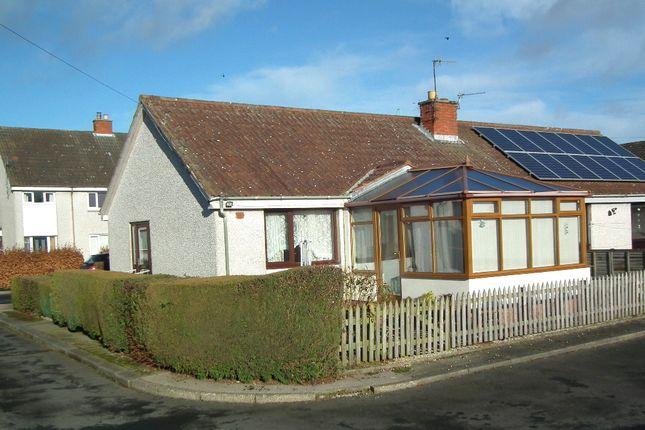 Thumbnail Semi-detached bungalow for sale in The Glebe, Gavinton, Duns