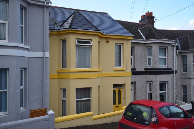 Thumbnail Terraced house for sale in Mostyn Avenue, Plymouth