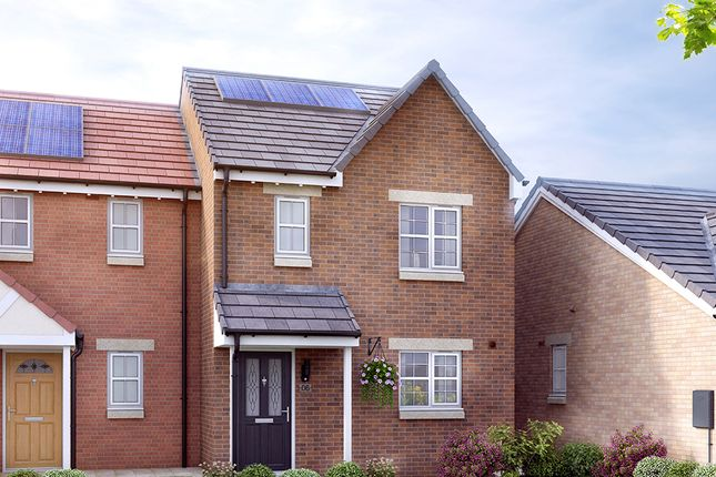 Thumbnail Town house for sale in Off The Grove, Walton, Wakefield