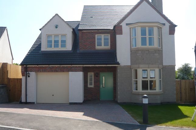 Thumbnail Detached house for sale in Spencer Close, Glenfield, Leicester