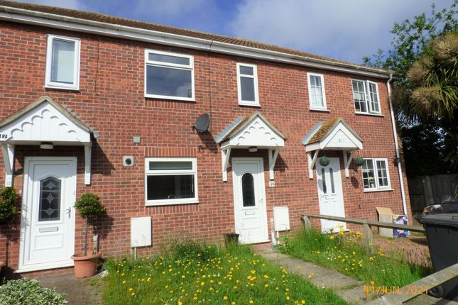 Thumbnail Terraced house to rent in Swift Close, Carlton Colville, Lowestoft