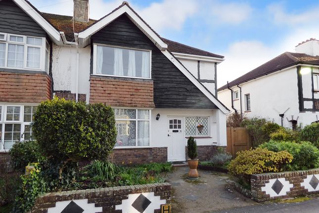 Thumbnail Semi-detached house for sale in Westland Avenue, Worthing