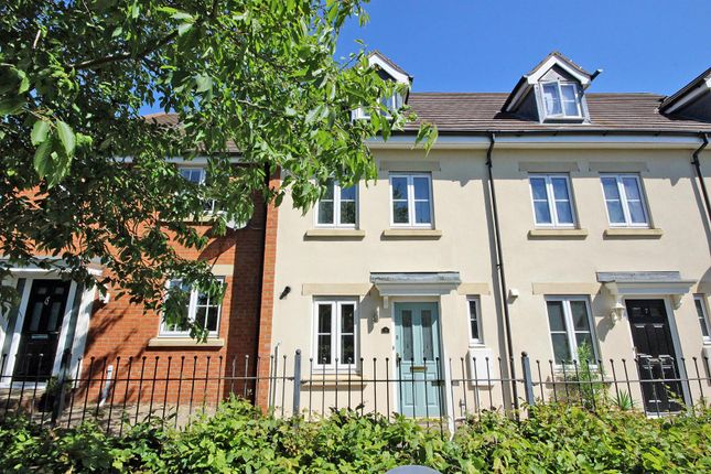 Thumbnail Town house for sale in Dolcey Way, Sharnbrook, Bedford