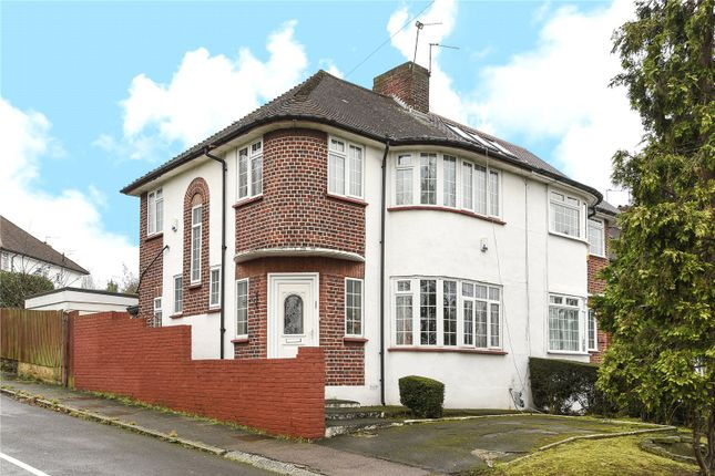 Thumbnail End terrace house for sale in Hampden Way, Southgate, London