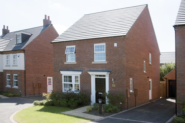 "Thumbnail Detached house for sale in ""Burghley"" at Harbury Lane, Heathcote, Warwick"