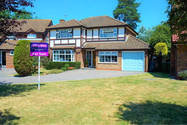 Thumbnail Detached house for sale in The Peacocks, Warwick