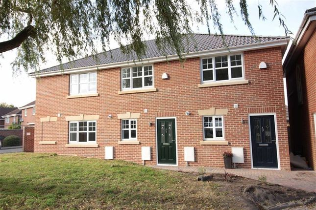 Thumbnail End terrace house for sale in Hill Close, Emersons Green, Bristol