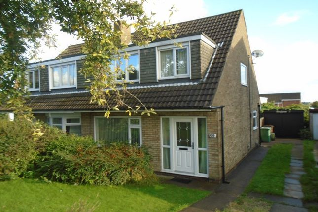 Thumbnail Semi-detached house to rent in Holmsley Lane, Woodlesford, Leeds