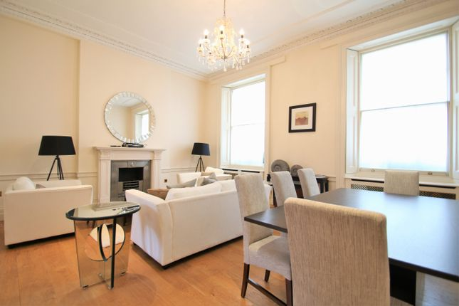 Thumbnail Flat to rent in West Eaton Place, Belgravia, London