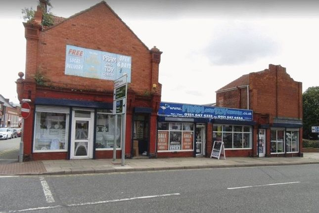 Thumbnail Commercial property for sale in Whetstone Lane, Tranmere, Birkenhead