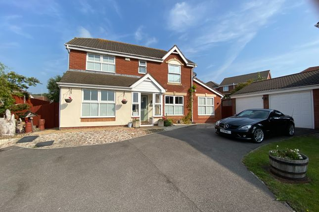 Thumbnail Detached house for sale in Melyn Y Gors, Pencoetre, Barry