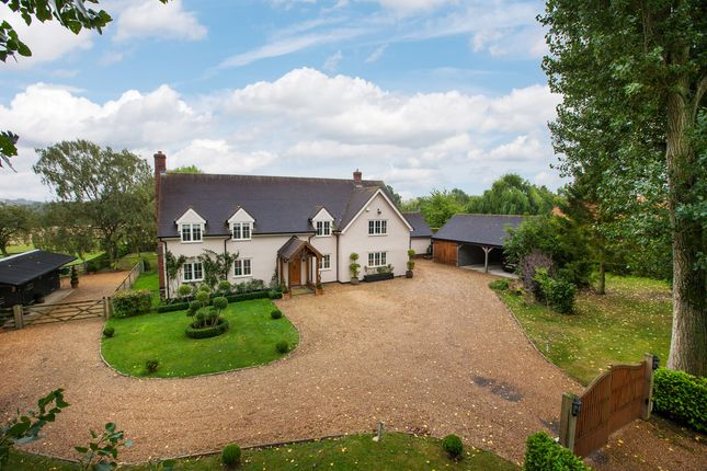 Thumbnail Detached house for sale in Wickhambrook, Newmarket