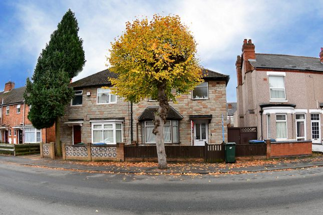 Thumbnail Semi-detached house to rent in Hollis Road, Stoke, Coventry