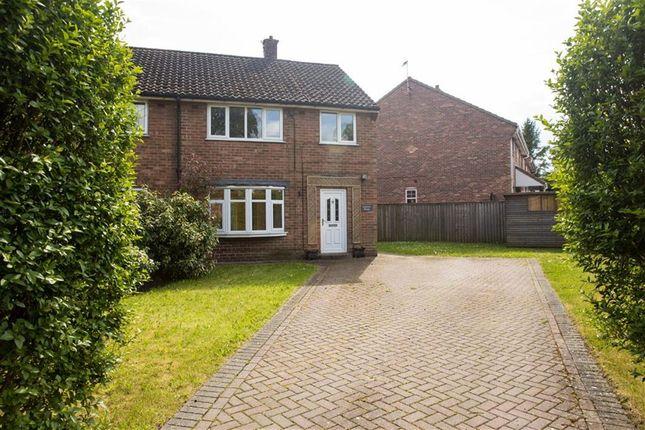 Thumbnail Semi-detached house to rent in School Lane, Askham Richard, York