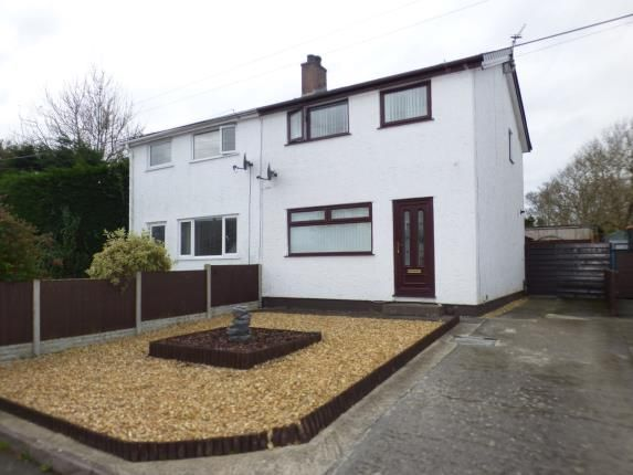 Thumbnail Semi-detached house for sale in Lon Lwyd Isaf, Pentraeth, Anglesey, North Wales