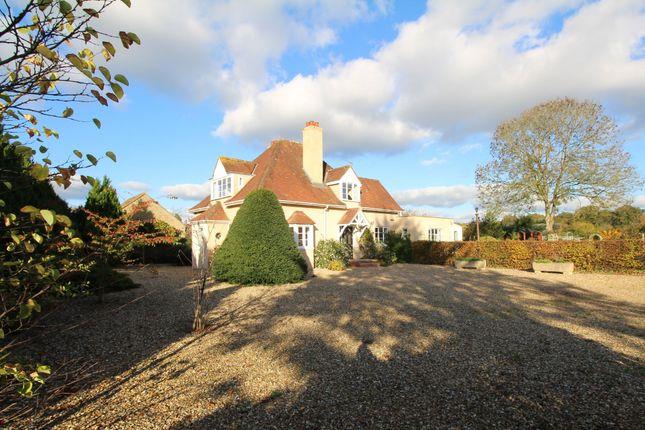 Thumbnail Detached house for sale in Melksham Road, Lacock, Chippenham