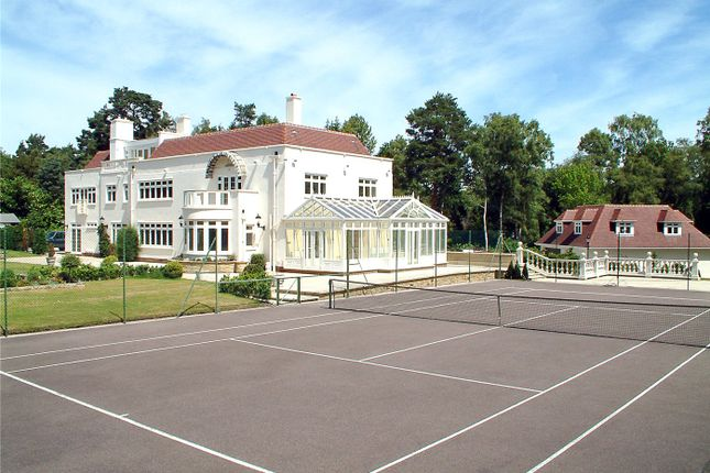 Thumbnail Detached house to rent in Stayne End, Virginia Water, Surrey