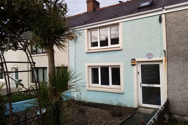 Thumbnail Terraced house to rent in Broadmoor, Kilgetty