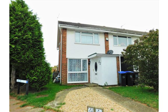 Thumbnail End terrace house for sale in Hudson Close, Worthing