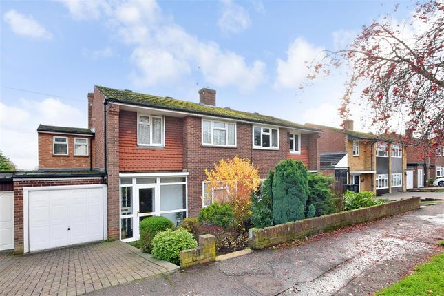 Thumbnail Semi-detached house for sale in Nicholl Road, Epping, Essex