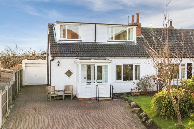 Thumbnail Semi-detached bungalow for sale in The Poplars, Bramhope, Leeds