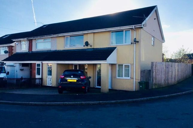 Thumbnail Property to rent in Byron Avenue, Beddau, Pontypridd