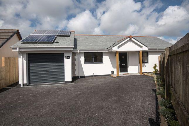 Thumbnail Bungalow for sale in Rame Cross, Penryn