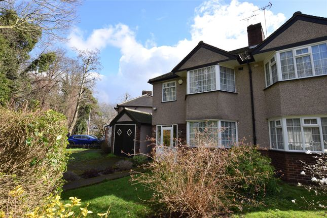 Thumbnail Semi-detached house for sale in Hackbridge Park Gardens, Carshalton, Surrey