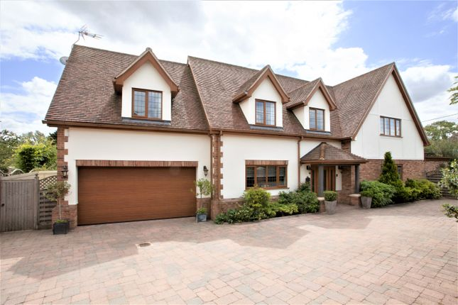 Thumbnail Detached house for sale in Orchard View, Ramsden Bellhouse, Billericay