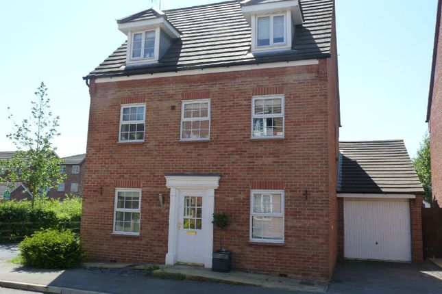 Thumbnail Detached house for sale in Navigation Drive, Glen Parva, Leicester