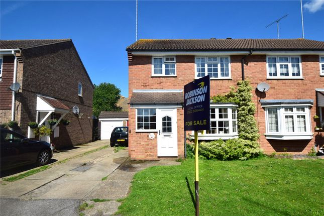 Thumbnail End terrace house for sale in Waylands, Swanley, Kent