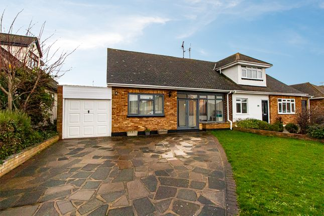 Thumbnail Semi-detached bungalow for sale in Leitrim Avenue, Shoeburyness