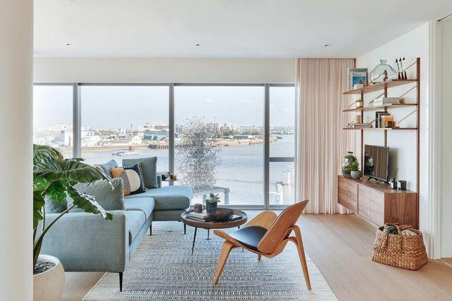 Thumbnail Flat to rent in No.1, Upper Riverside, Cutter Lane, Greenwich Peninsula