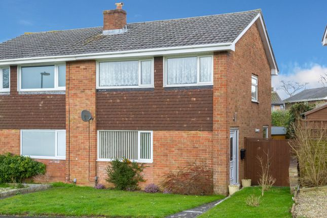 Thumbnail Semi-detached house to rent in Kestrel Close, Chipping Sodbury, Bristol