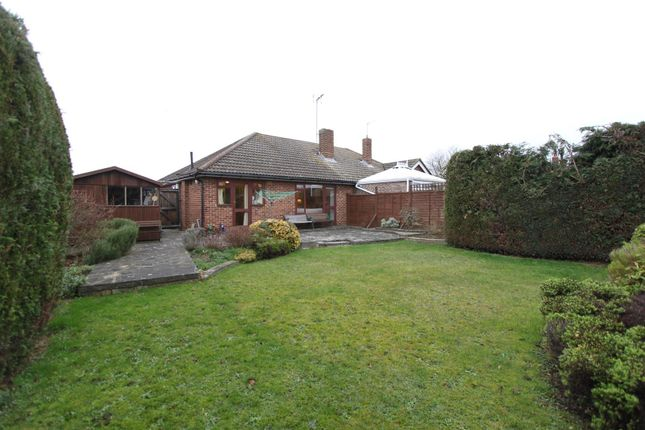 Thumbnail Semi-detached bungalow for sale in Peel Crescent, Hertford
