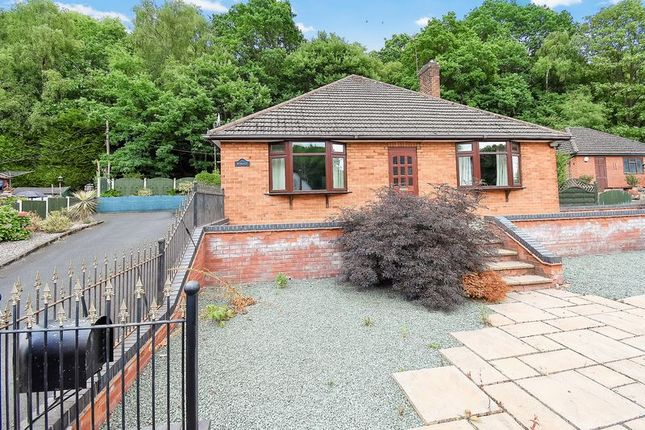 Thumbnail Detached bungalow for sale in High Crest, Southall Road, Dawley, Telford